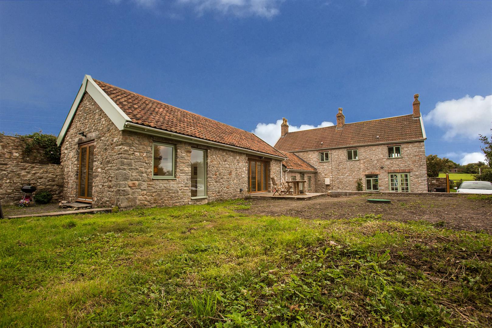 4 Bedrooms Detached House for sale in Stone Edge Cottage, Tickenham